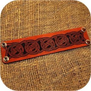 Кожаный браслет «Этник»