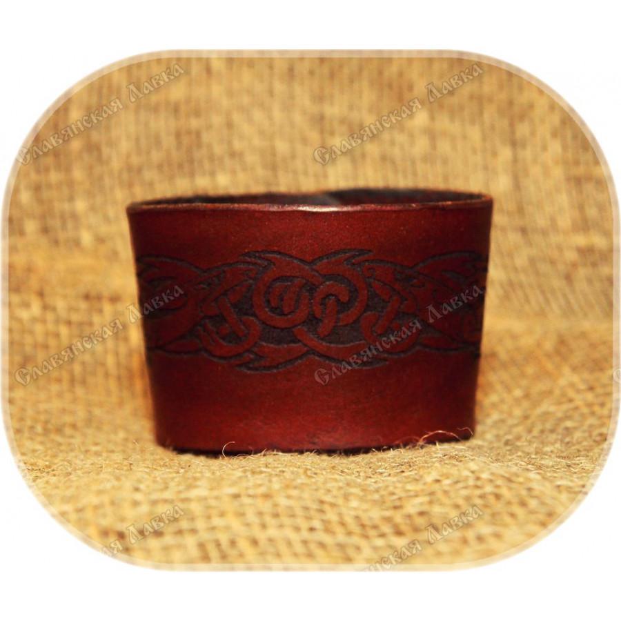 Кожаный браслет «Кельтика»