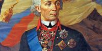 Великий полководец Руси Александр Суворов