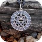 Кулон из серебра «Чертог Щуки»
