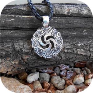 Кулон из серебра  «Сила Рода»
