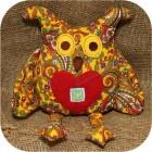 Детская игрушка «Совенок» с оберегом «Радинец»