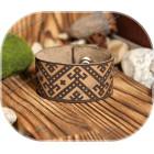 Кожаный браслет «Макошь»