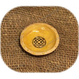 Солонка керамическая с символом малая