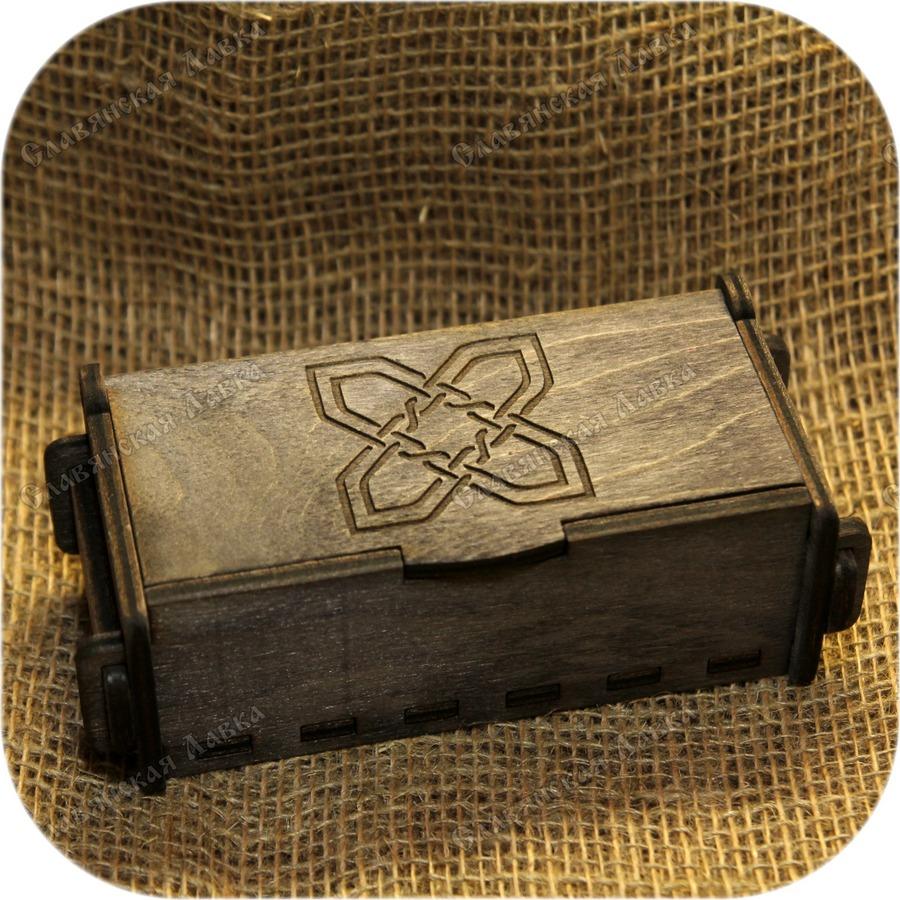 Берёзовая шкатулка «Кельтская»