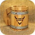 Кружка с металлическими ободами «Велес»