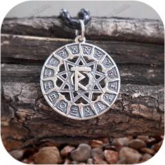 Кулон из серебра «Чертог Расы»