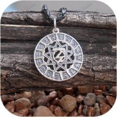 Кулон из серебра «Чертог Орла»