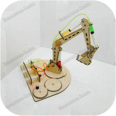 Набор для технического творчества «Детальки машин - Экскаватор»