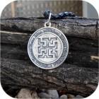 Оберег серебряный «Духобор»