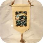 Славянское тканевое панно «Велес»