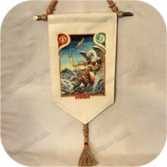 Славянское тканевое панно «Стрибог»