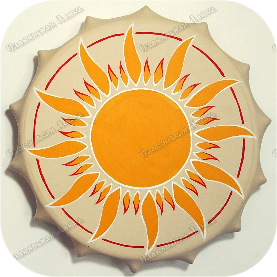 Обрядовый бубен «Солнышко»
