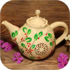 Чайник славянский с Коловратом
