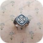 Серебряное кольцо «Родимич»