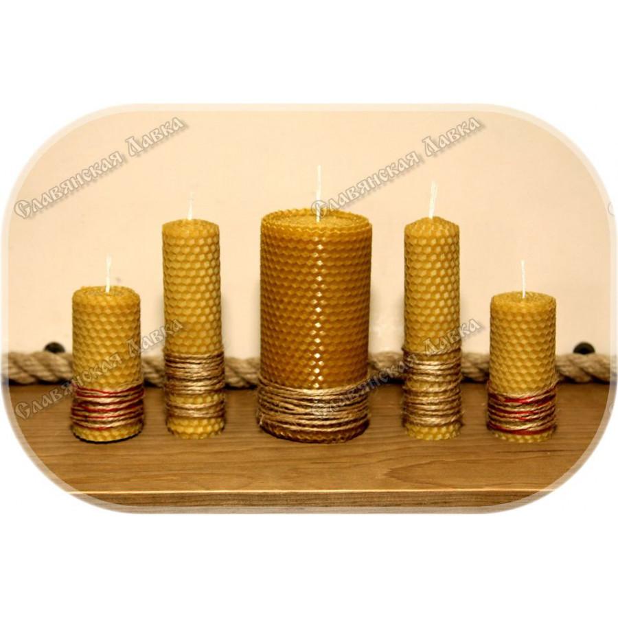 Набор свечей большой