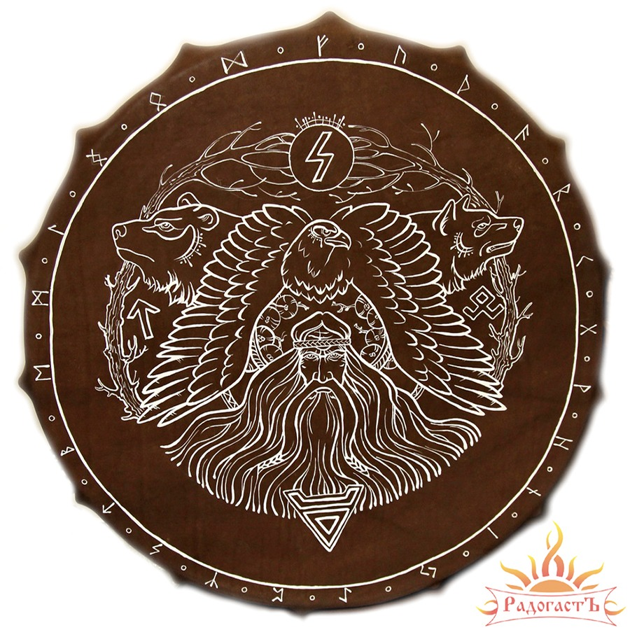 Славянский бубен «Хозяин леса»