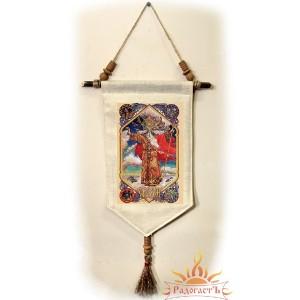 Славянское тканевое панно «Сварог»