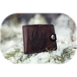Кожаное портмоне «Медвежья Лапа»