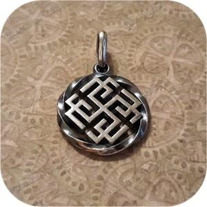 Кулон из серебра «Сварожич/Родимич» малый