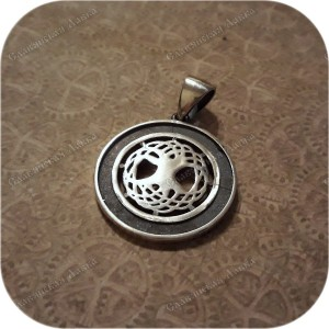 Серебряный кулон «Мировое Древо»