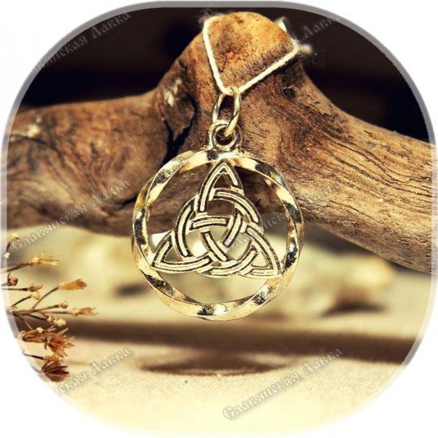 Кулон из серебра «Триксель» малый