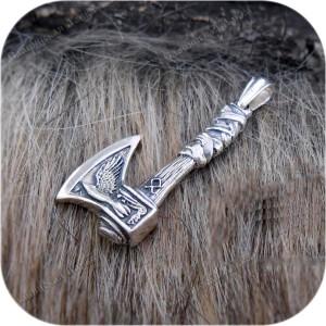 Кулон из серебра «Малый Охотничий Топор»