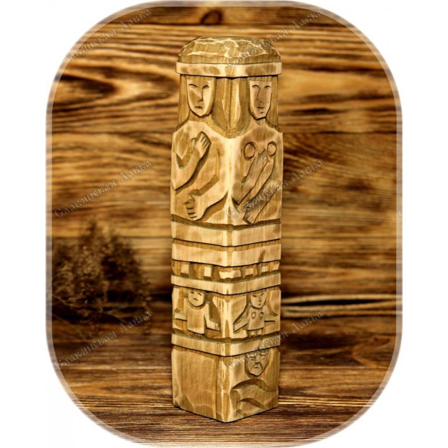 Збручский идол (кедр)