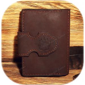 Обложка на паспорт «Сила медведя» с визитницей