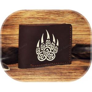 Кожаное портмоне «Печать Велеса»