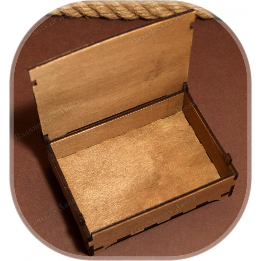 Берёзовая шкатулка для Карт Таро