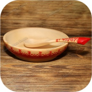 Комплект посуды «Русский лес»