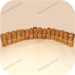 Малый пантеон славянских богов (16 кумиров)
