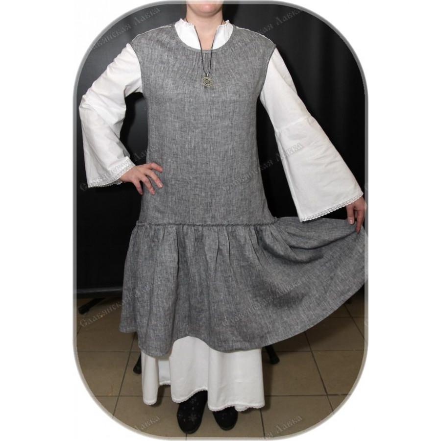 Летний сарафан-платье