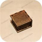 Берёзовая шкатулка под украшения «Вязь»