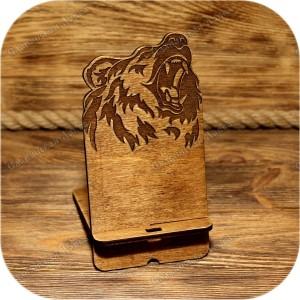 Подставка под телефон «Медведь»