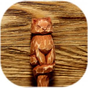 Шпилька с навершием «Котик»