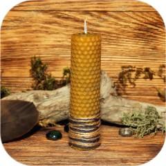 Свеча из вощины «Крапива»