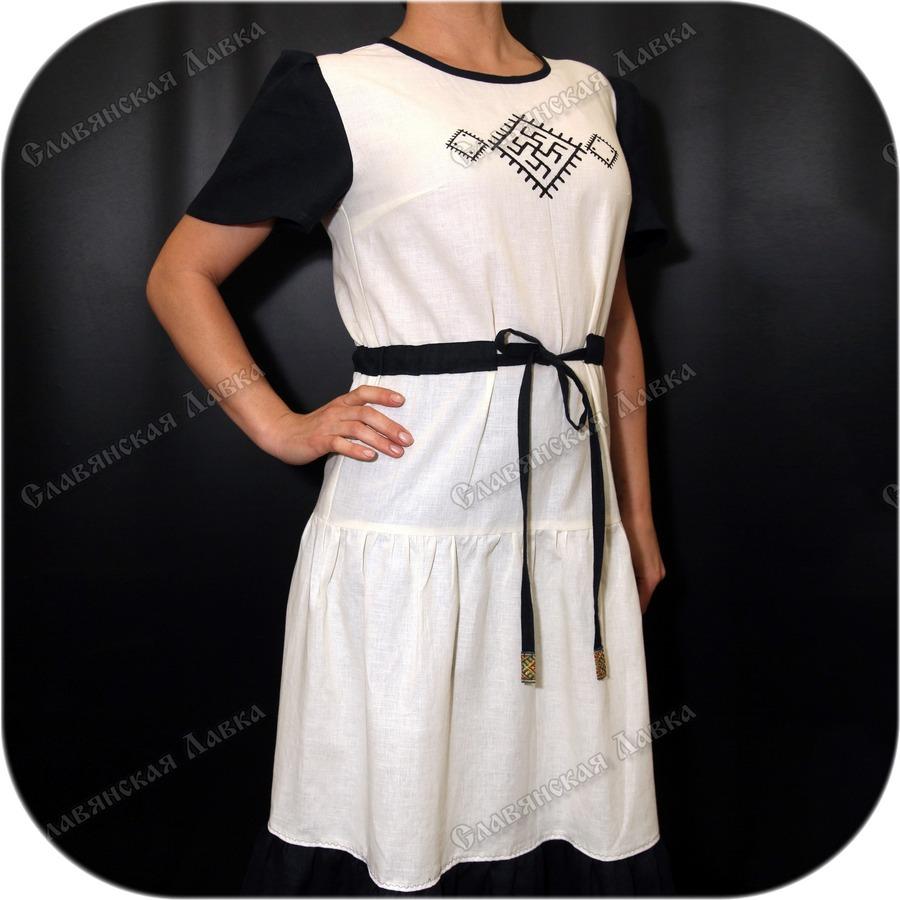 Платье женское летнее «Цветок Папоротника»