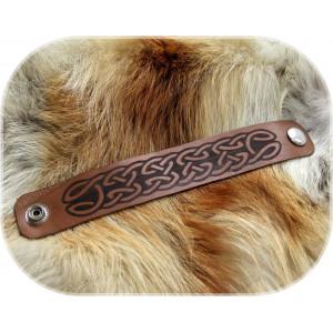Кожаный браслет «Изящество»