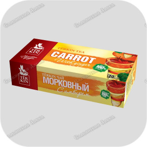 Чайный напиток «Тёркин Морковный» с имбирём