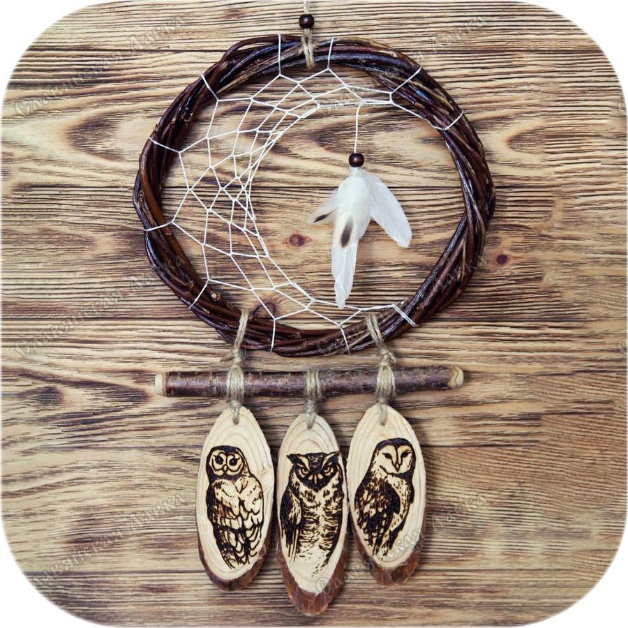 Авторский ловец снов «Три Совы»