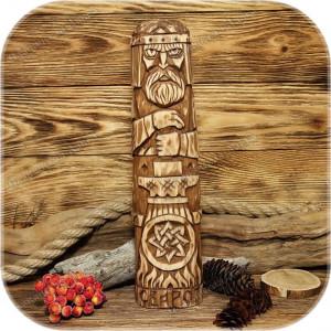 Традиционный кумир Сварога (30 см)