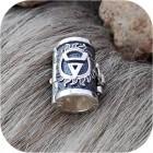 Кольцо для бороды на защёлке «Огонь Велеса»