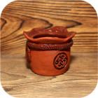 Солонка керамическая с символом «Перунов цвет»