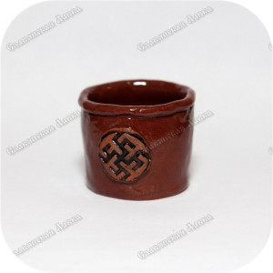 Горшочек обережный с символом