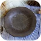 Тарелка «Руническая» (керамика)