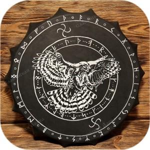 Шаманский бубен «Сокол»