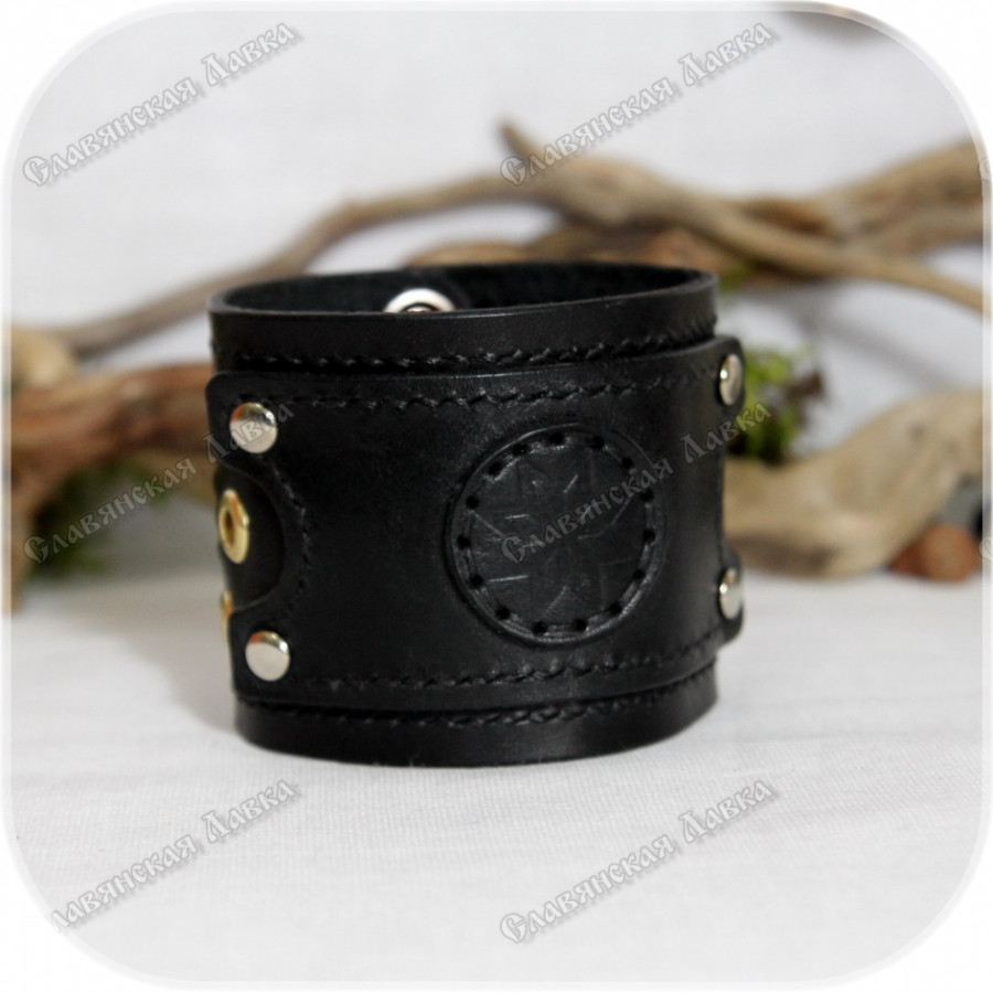 Кожаный браслет «Звезда плодородия»