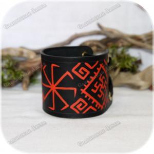 Кожаный браслет «Коловрат»